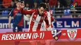 Resumen de SD Huesca vs Athletic Club (0-1)