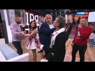 Андрей Малахов. Прямой эфир. Вадим Казаченко избил молодую жену!