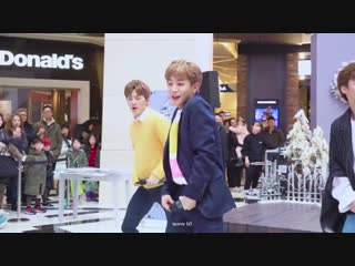 181208 DONGKIZ - 놈 (NOM) in IFC Mall [focus MUNIK]