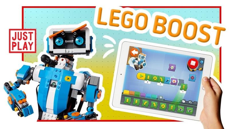 LEGO BOOST ВЕРНИ ЧТО УМЕЕТ ЛЕГО РОБОТ LEGO BOOST VERNIE THE ROBOT