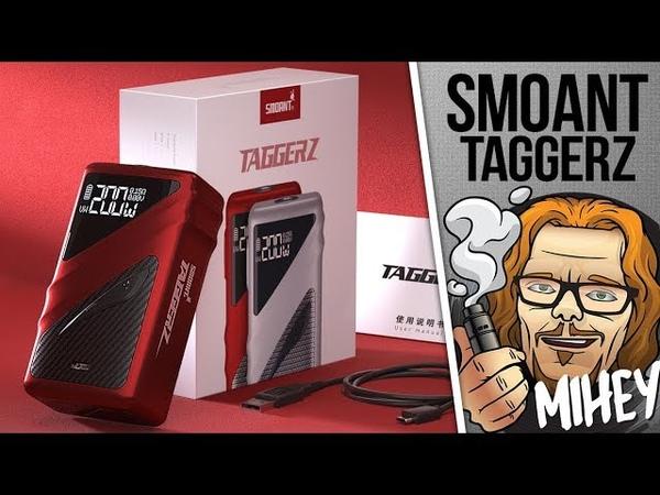 Smoant Taggerz 200W TC Kit. Максимум пластика.