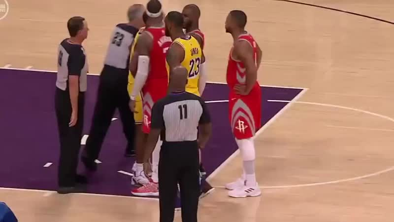 Chris Paul, Brandon Ingram and Rajon Rondo have been ejected after throwing blows in L.A.