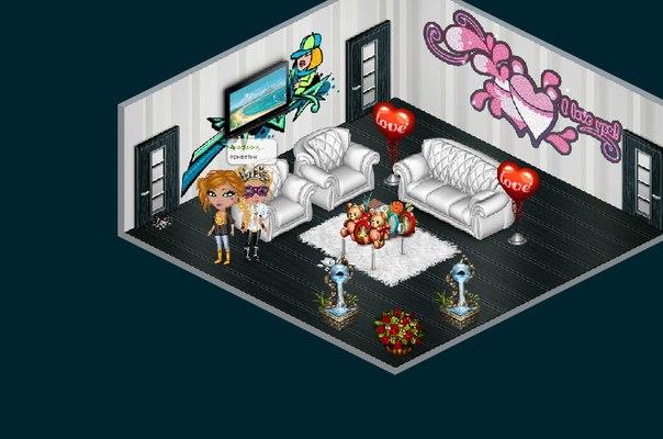 Как сделать красивую гостиную в игре аватария