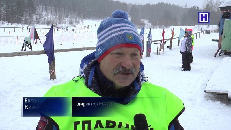 Метель лыжному спорту не помеха