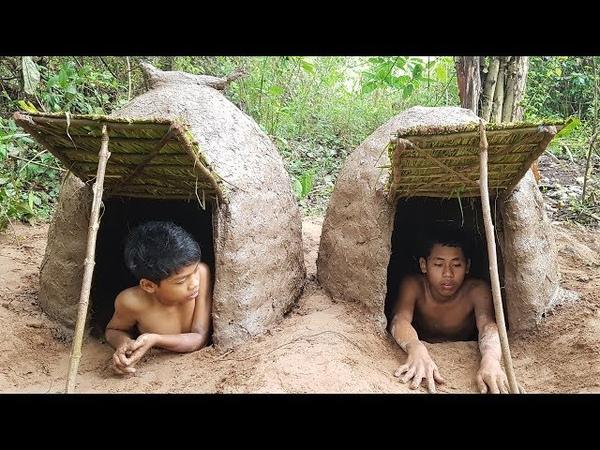 Primitive Technology: Mini Underground House