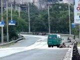Фашистов ждала засада на Посмосту в Мариуполе 14 06 2014