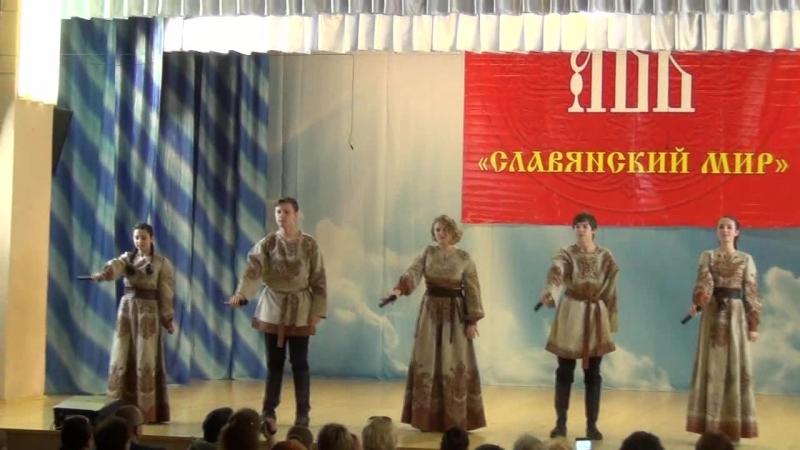 Лауреат I степени Ансамбль Моцартеум - Небо славян