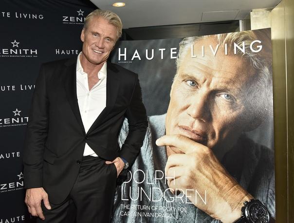 Dolph Lundgren Haute Living