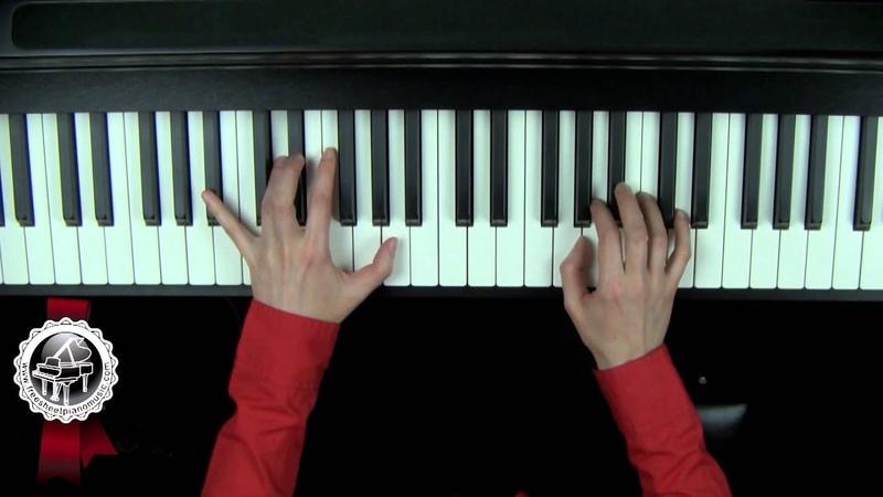 SCHUBERT - Ave Maria Piano Tutorial SLOW Part 1