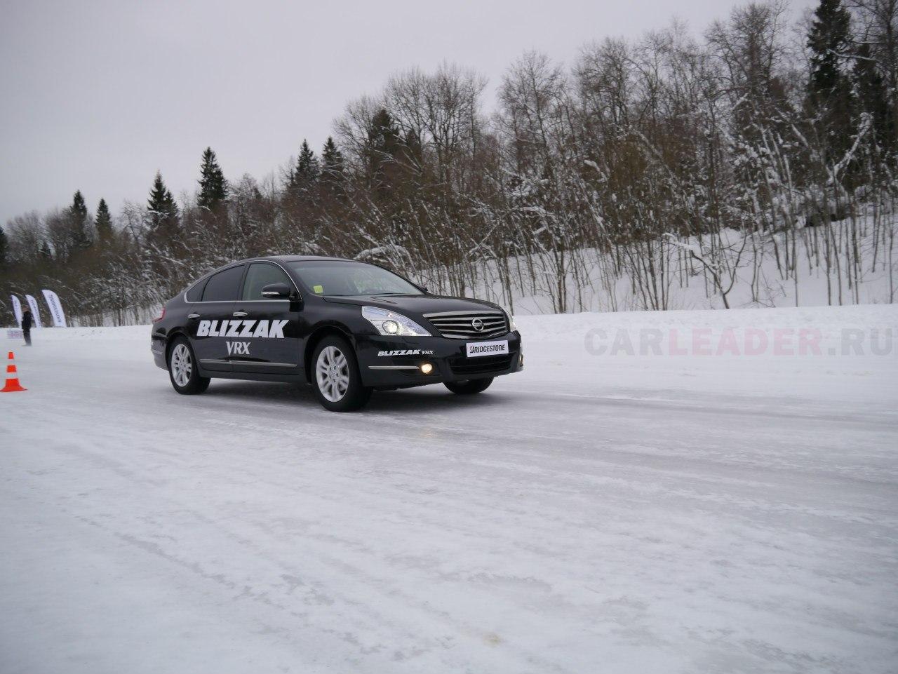 тест зимних шин Bridgestone Blizzak VRX