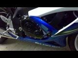 Установка слайдеров на GSX-R (Yoshimura Chassis Protectors - Frame Sliders (1104-A102))