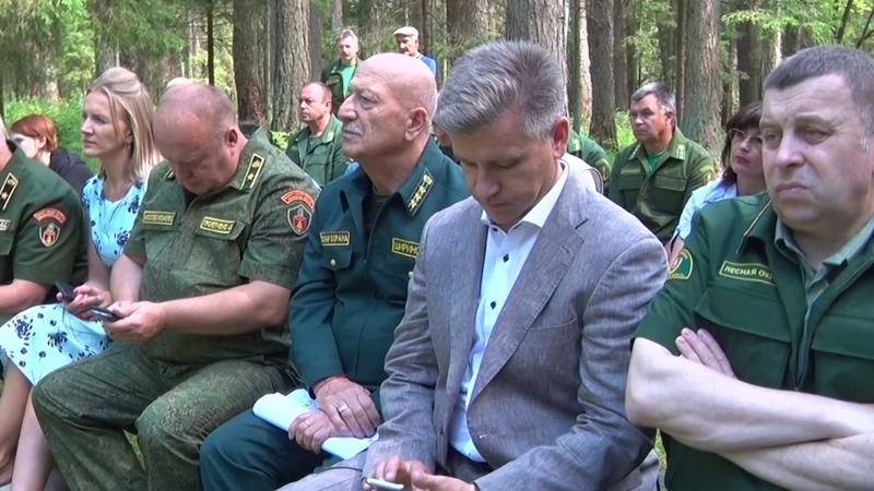На выездном общественном заседании лесничих обсудили развитие лесного хозяйства