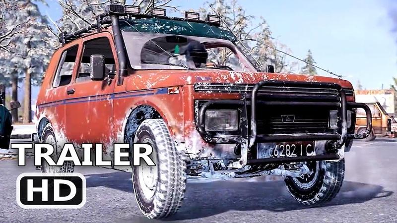 PS4 - PUBG Vikendi Zima Trailer (2019)