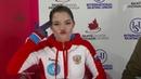 Евгения Медведева Короткая программа Skate Canada Гран при по фигурному катанию сезона 2018 19
