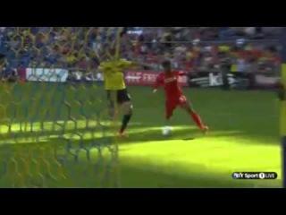Kristoffer Peterson Goal   Brondby vs Liverpool   Pre-Season Friendly 2014   HD