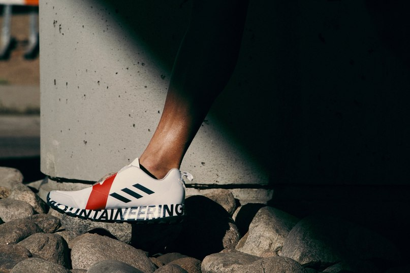 c80aa0ae3 Japanese label White Mountaineering re-ignites its long-standing  partnership with adidas Originals for an innovative take on the Terrex  silhouette.