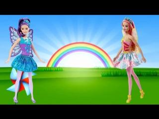 ЗАГАДКИ ПРО ЦВЕТЫ Для детей Развивающий мультик Барби феи
