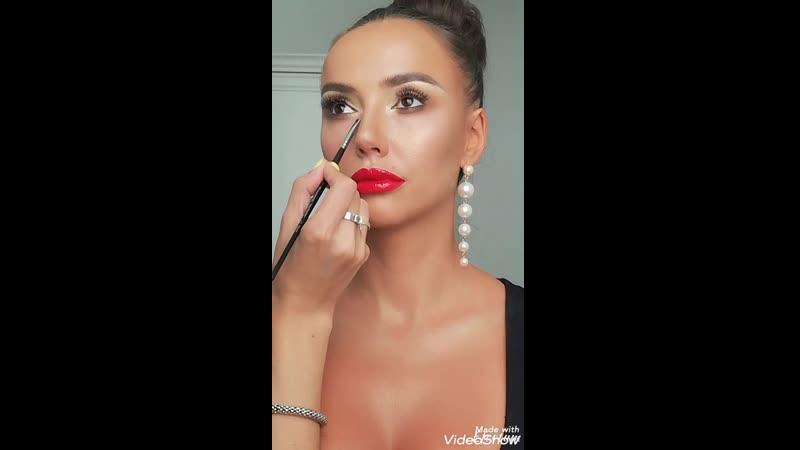 My love redlips❤️ Мой макияж для Эли!