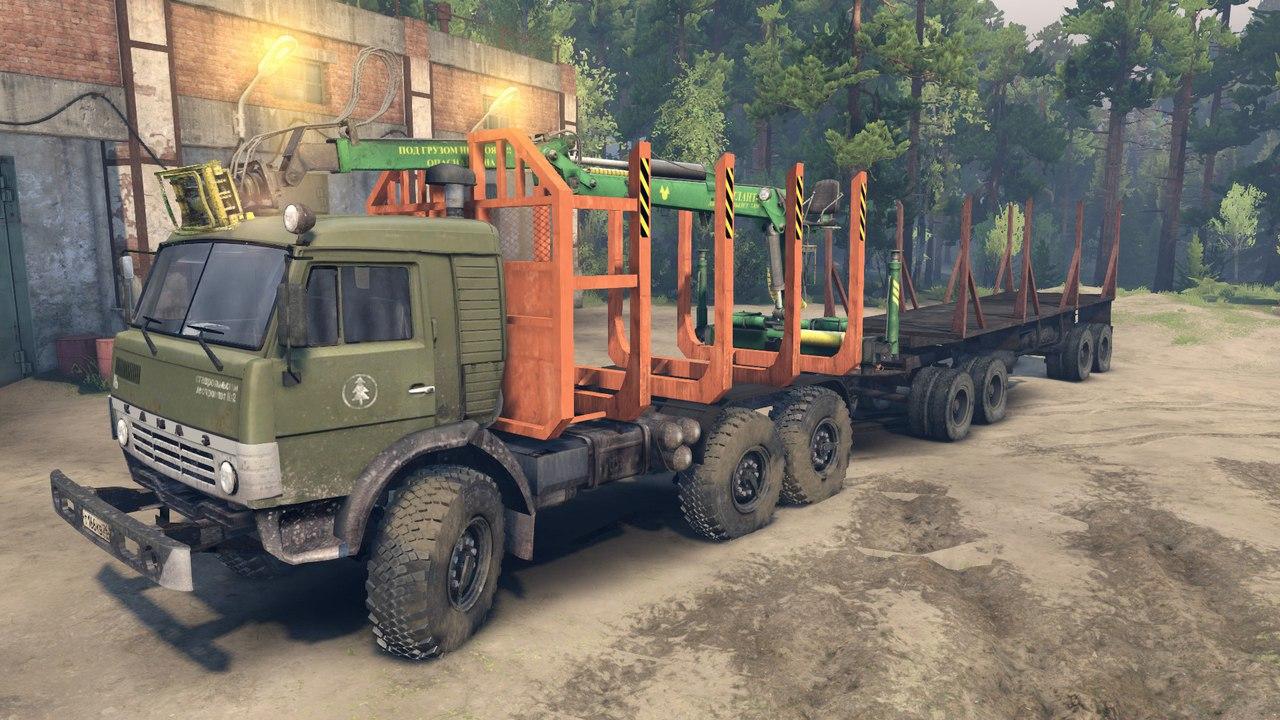 КамАЗ-43114 для Spintires - Скриншот 3