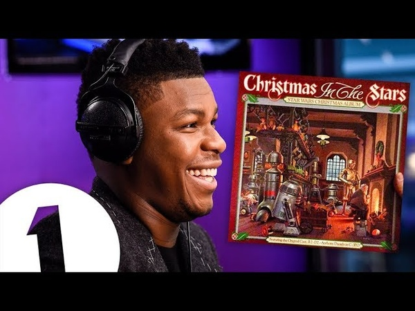 John Boyega reacts to the Star Wars Christmas album (Christmas In The Stars)