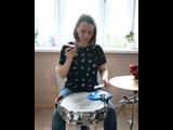 Aleksandra Zolotova - Single paradiddle application