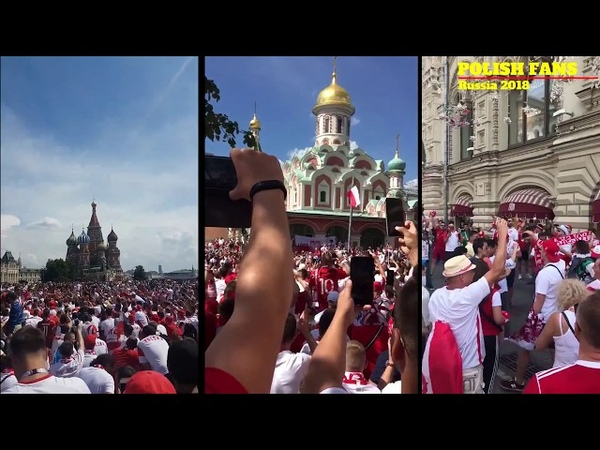 Polish fans overtake Moscow I Poland-Senegal I World Cup Russia 2018