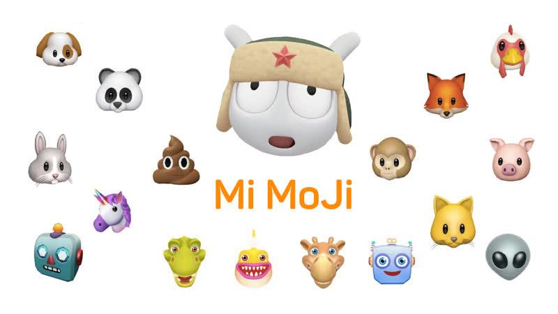 Mi Moji – инновации в массы, живые смайлики