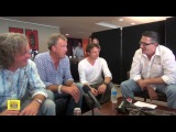 Top Gear interview with all three presenters and Darren Maule
