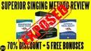 Superior Singing Method Review (2018) ⚠️WARNING⚠️ Don't Buy Superior Singing Method Watch This!
