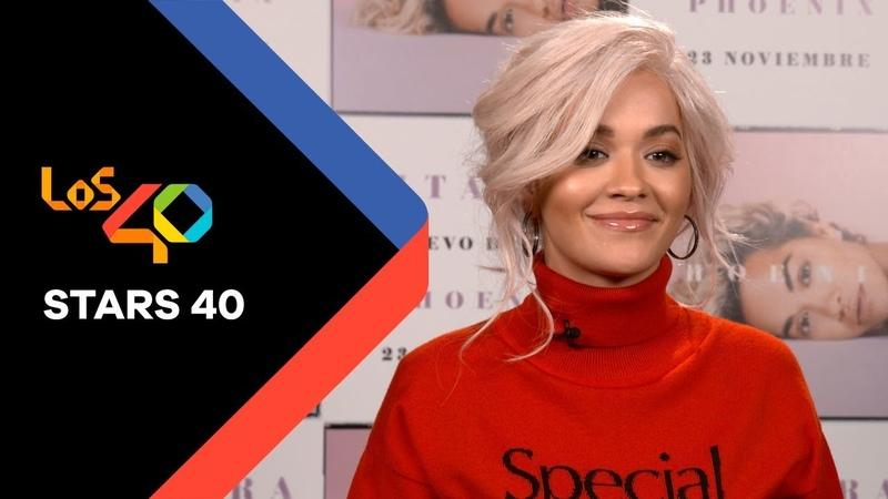 Rita Ora: Si tuviese que describir Phoenix con una palabra sería libre