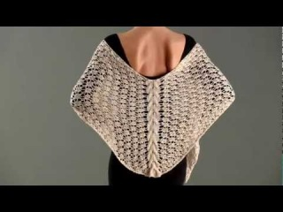 #15 Cable Panel Shawl, Vogue Knitting Spring/Summer 2012