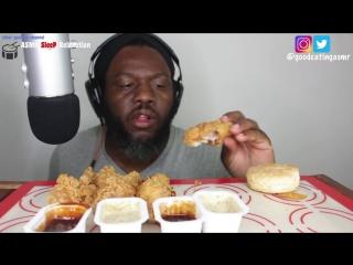 [Good Eating ASMR] ASMR Eating *CRUNCHY* ASMR POPEYES Fried Chicken & Cajun Fries 먹방 *No Talking* Eating Sounds