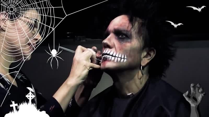Halloween make-up. Jussi 69 [2018].