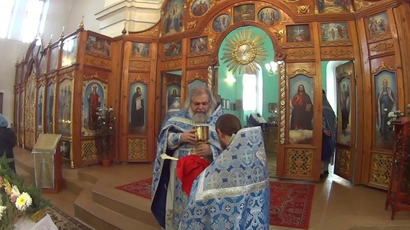 Луганская Голгофа. Престольный праздник иконы Божьей Матери Скоропослушница