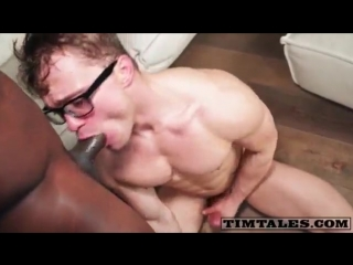 Big black dick fuck white guy