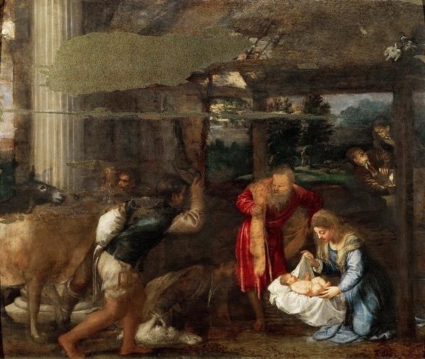 Тициан  Рождество Христово