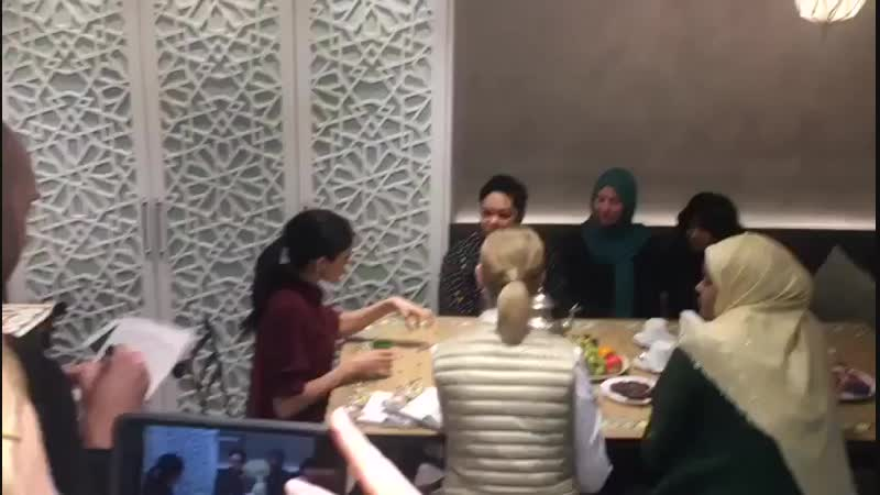 Meghan, who suggested the idea of a fundraising cookbook when she first met the women, sat down with the group in the newly reno