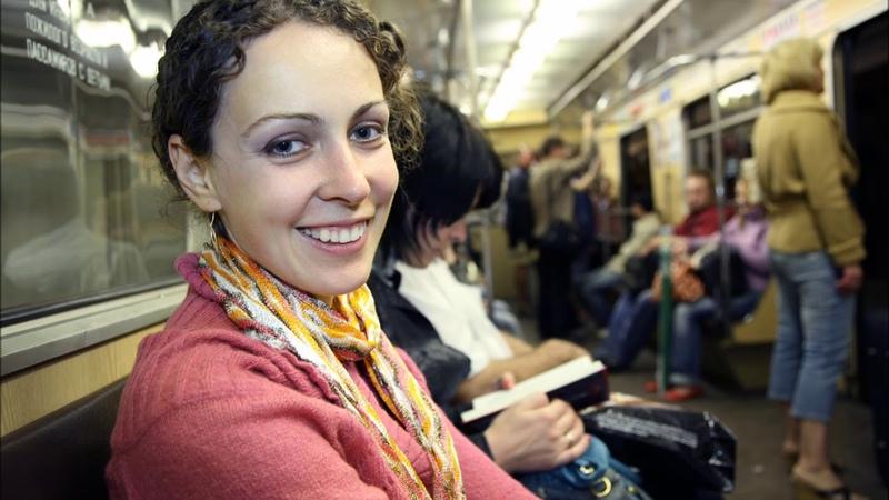 Американка о московском метро - Не думала, что русские умеют так строить