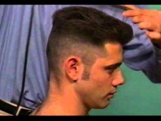 Мужская модельная стрижка. Men model haircut.