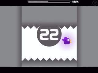 Моя мини игра на официальном Geometry dash