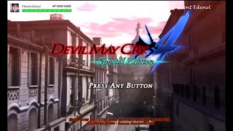 VINCENT EDENEL VARIETY GAMES (LANG : ID, ENG, JAP) DEVIL MAY CRY 4 DANTE MUST DIE