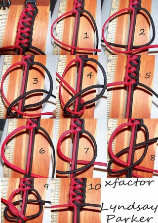 #paracord #bracelet #knot #