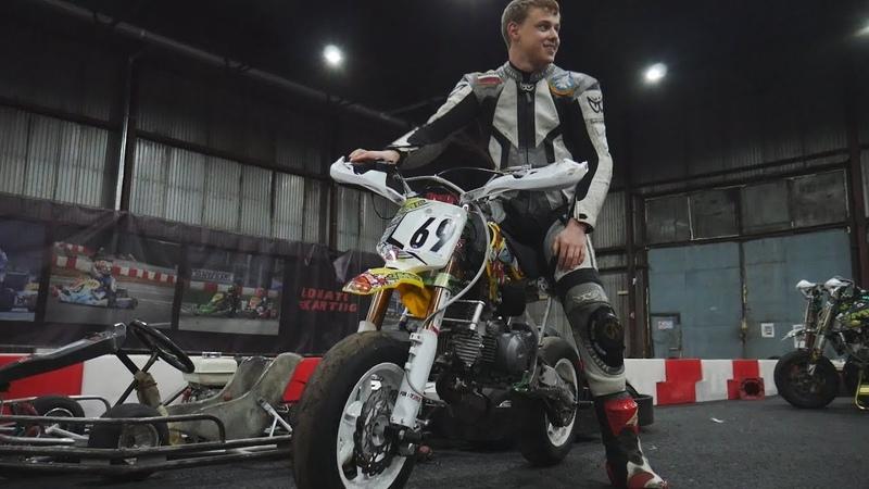 ГОНКИ НА ПИТБАЙКАХ | Pit bike Racing | Виталя валит!