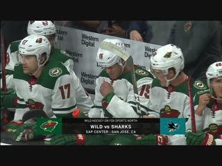 NHL 2018-2019 / RS / 06.11.2018 / Minnesota Wild vs San Jose Sharks