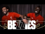 BEZZIES with Salah and Mane | Fastest? Best haircut? Coffee or Lovren?