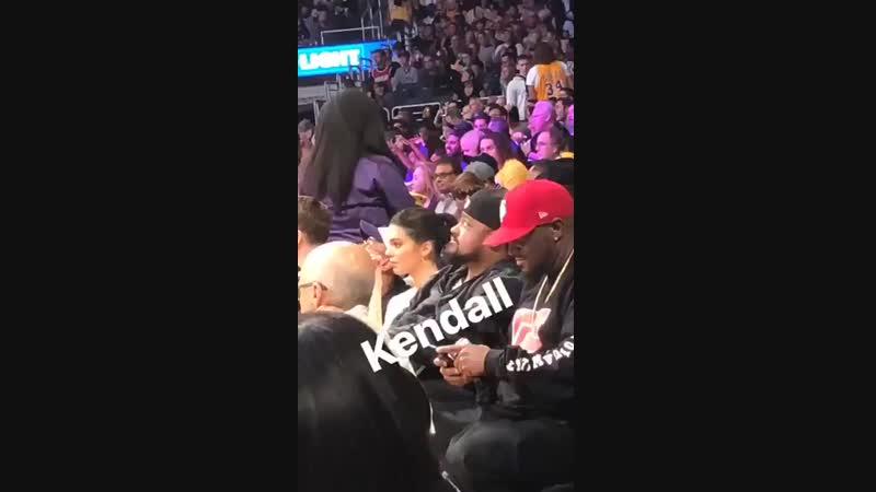 На баскетбольной игре «ЛА Лейкерс» против «Хьюстон Рокетс», Лос-Анджелес (20 октября 2018)