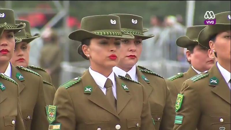 Gran Parada Militar Chile 2017 Carabineros de Chile Parte (12/13) HD 720p