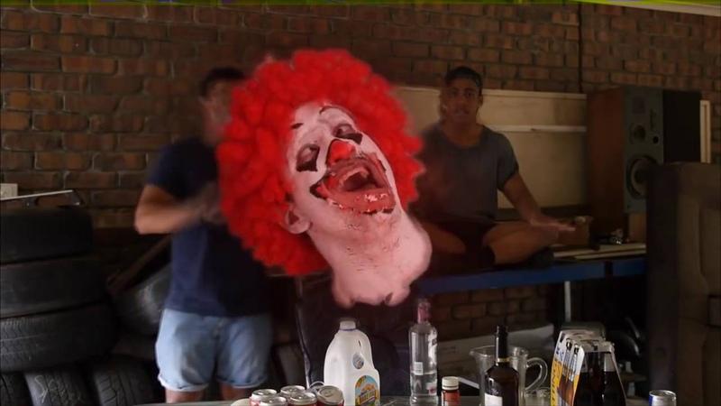 Ronald McDonald's EXTREME NEKNOMINATE Экстремальная пьянка Рональда МакДональда Русская озвучка