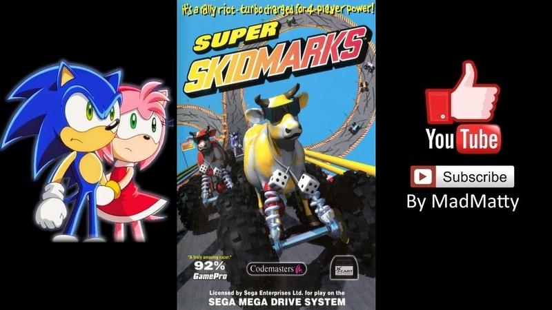 Super Skidmarks (Mega Drive) - Longplay