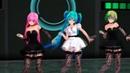 [AMV] Чёрной кошки нет опасней... Танец Вокалоидов - Аниме клип